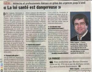 Loi de santé dangereuse Didier Legeais