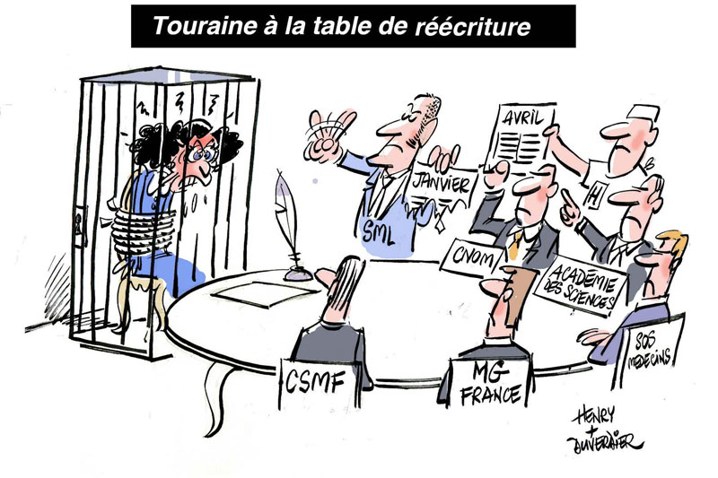 Touraine à la table de réécriture