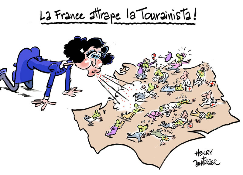 La France attrape la Tourainista